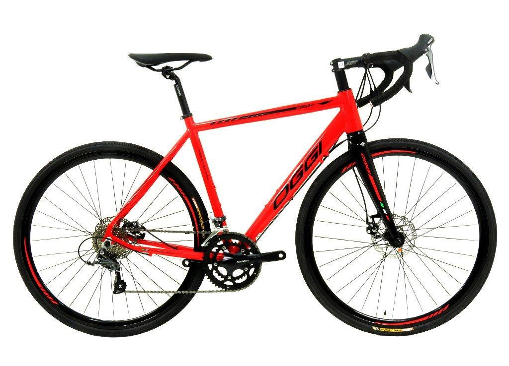 Bicicleta Speed Oggi Velloce Disc 2019 16v Shimano Claris
