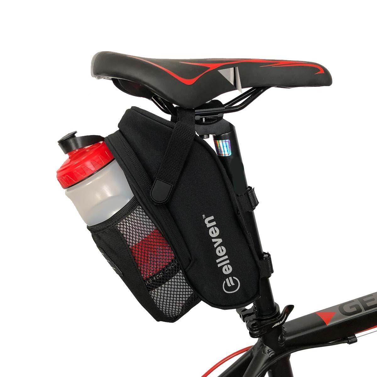 Bolsa De Selim Bike Elleven Com Bolso Para Garrafa