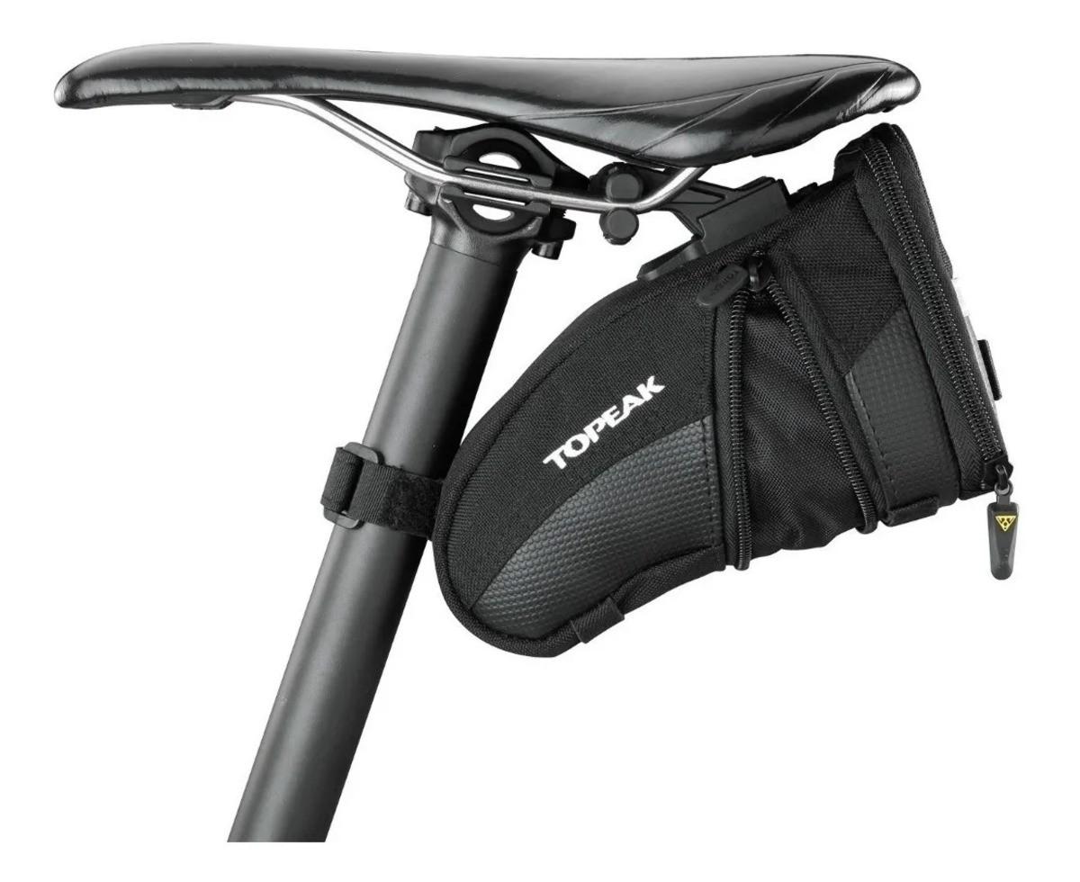 Bolsa De Selim Topeak Com Q-click Bicicleta Aero Wedge Pack