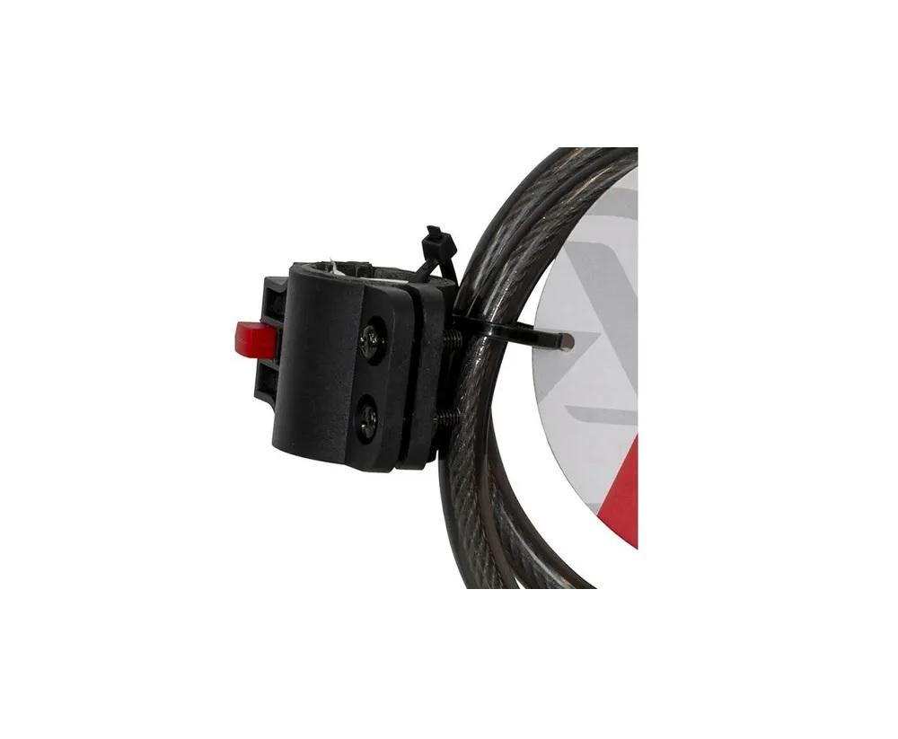 Cadeado Bike Absolute 80cmx12mm Espiral Com Segredo