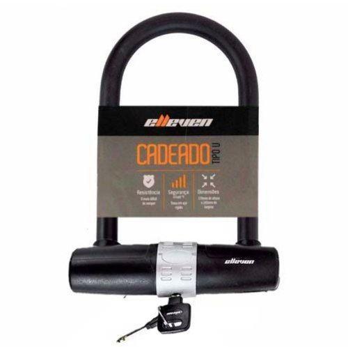 Cadeado Trava U-Lock 1,70x245mm Elleven