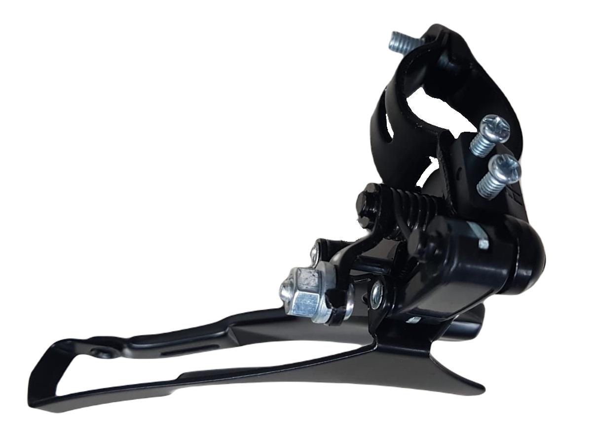 Cambio Dianteiro Bike Bicicleta Mtb Index 31.8mm por cima