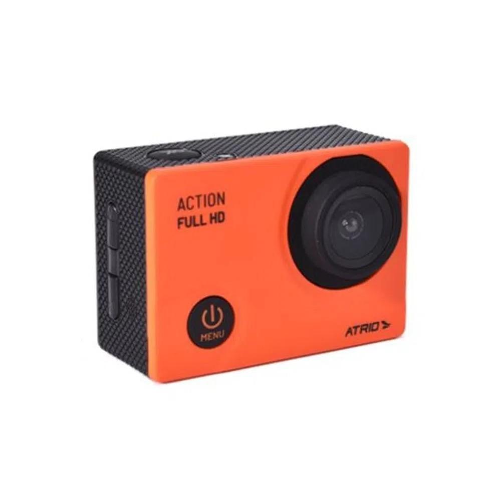 """Câmera Ação Action Full Hd Atrio Tela Lcd 2"""""""