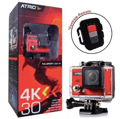 Câmera Filmadora Atrio Fullsport Cam 4k 720p 16mp