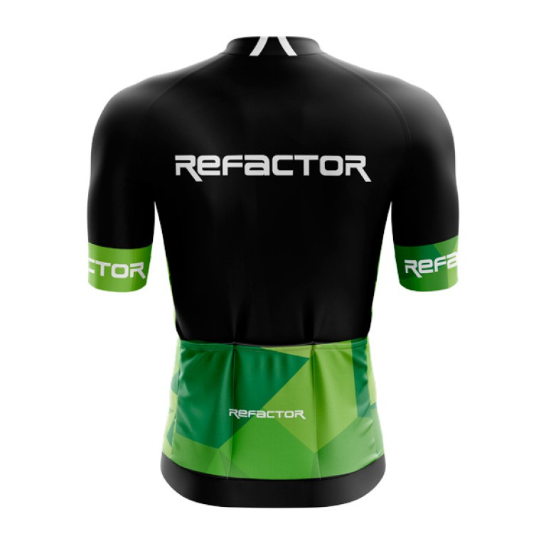 Camisa Ciclismo Masculina Refactor Abstract Bike
