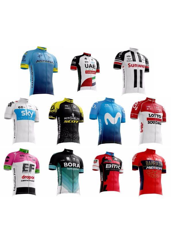 Camisa Ciclismo MTB/Speed World Tour