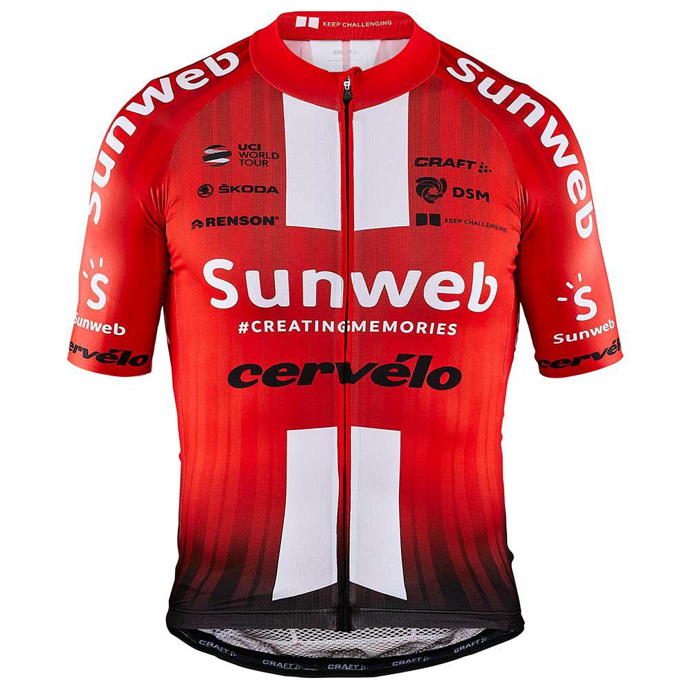Camisa Ciclismo Refactor World Tour Team Sunweb Masculina