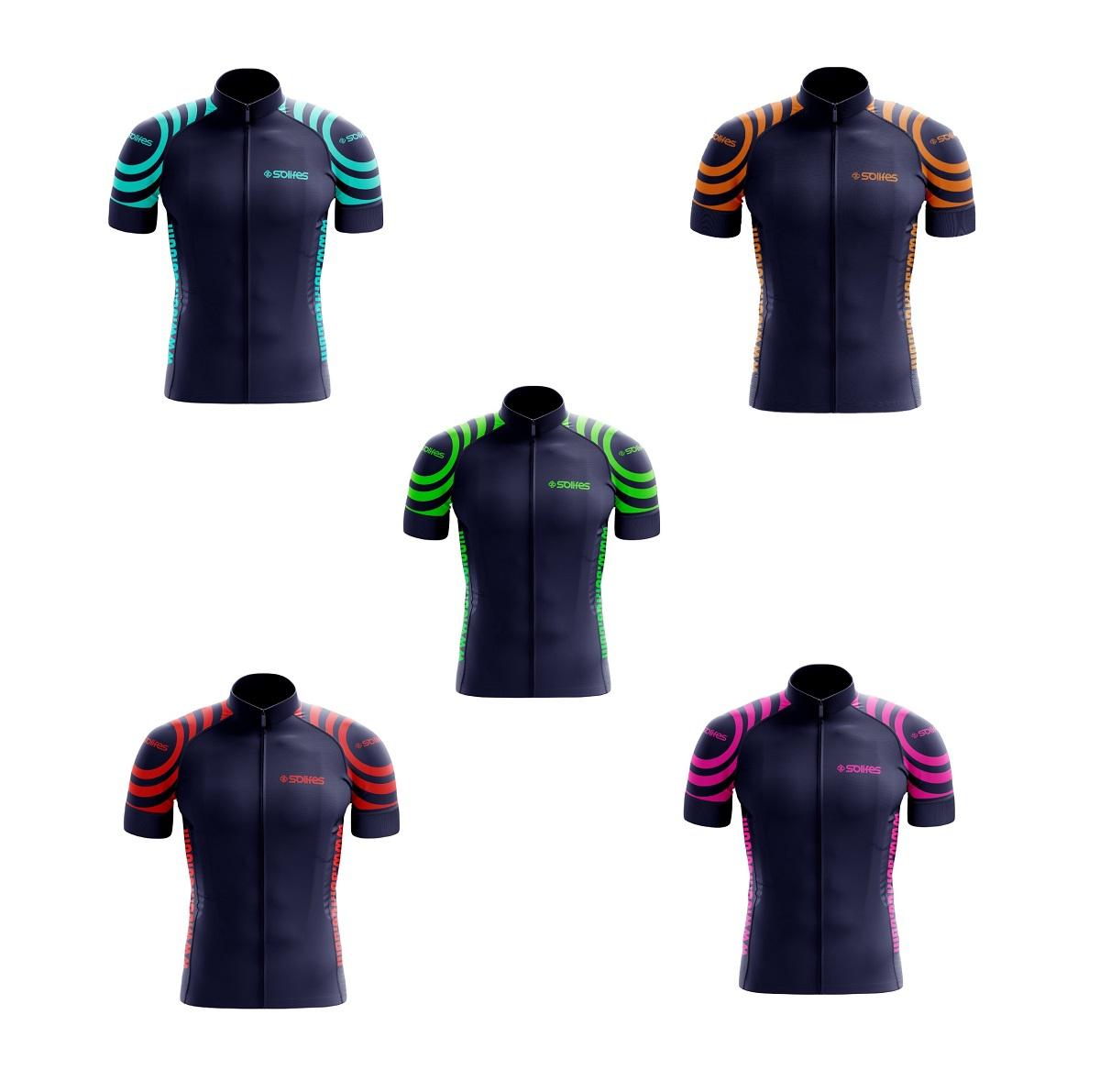 Camisa Ciclismo Unissex Solifes com Proteção UV50+