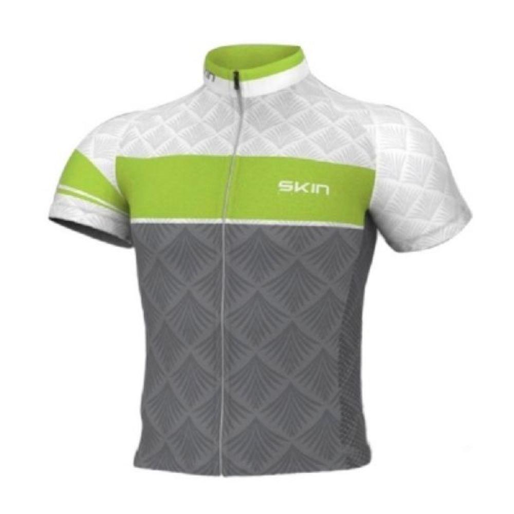 Camisa Oggi Cinza/verde/branco Tour Ss Fun