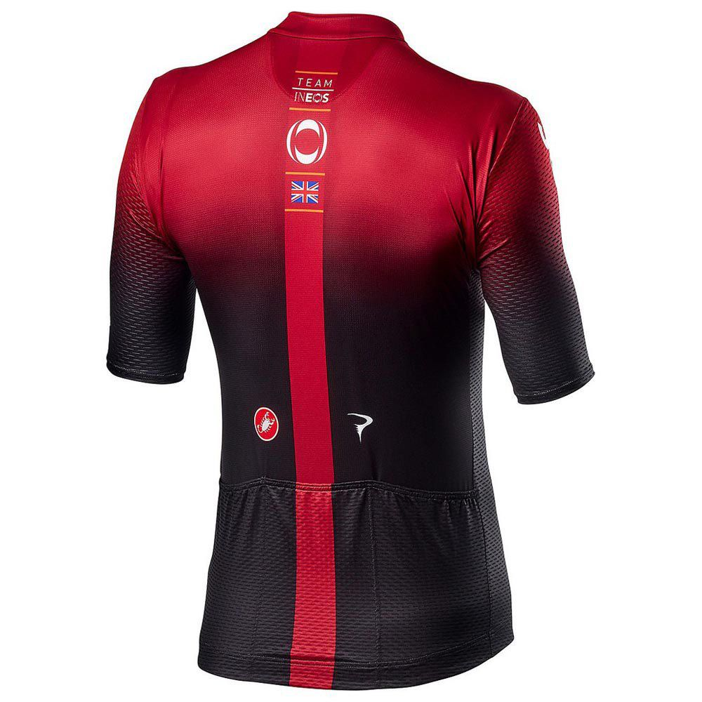 Camisa Ciclismo Refactor World Tour Team Ineos Masculina