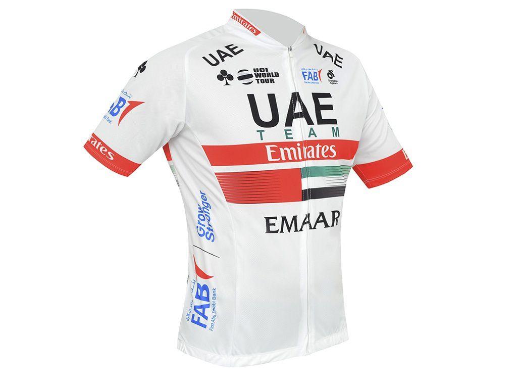 Camisa Ciclismo Refactor World Tour Uae Team Emirates Masculina