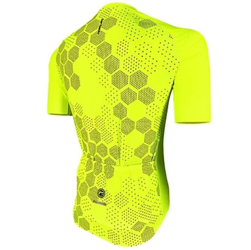 Camisas De Ciclismo Amarelo Neon Jurerê Bike Barbedo