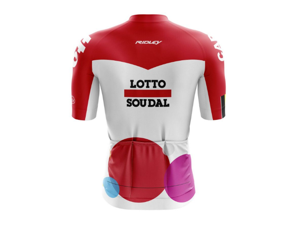 Camisas para Ciclismo World Tour kit 4 unidades