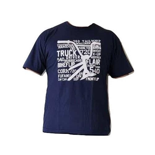 Camiseta Casual Bike 100% Algodão