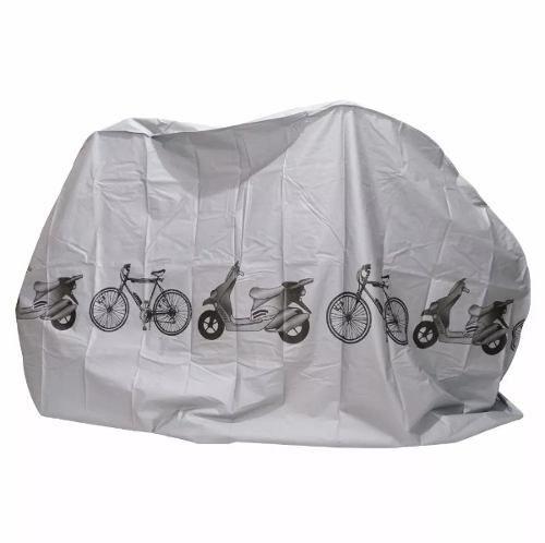 Capa de Chuva Para Bicicleta e Scooter 100% Impermeável