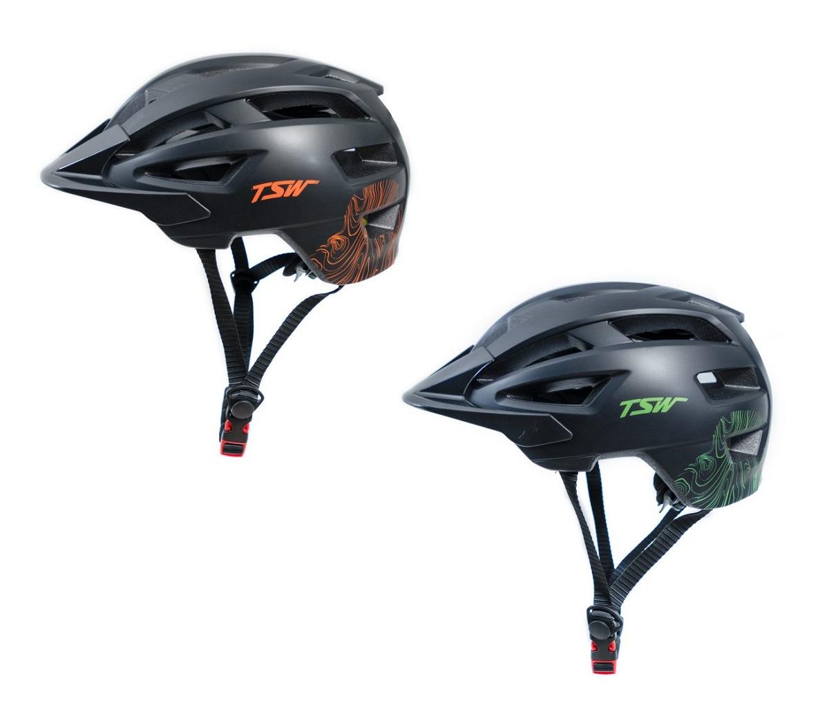 Capacete Ciclismo Bike Mtb Tsw New Enduro