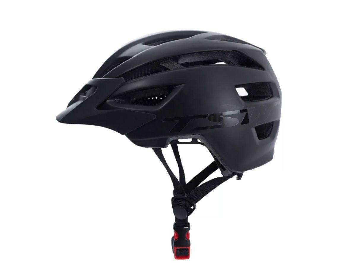 Capacete Mtb Ciclismo Bike Enduro Preto Tsw