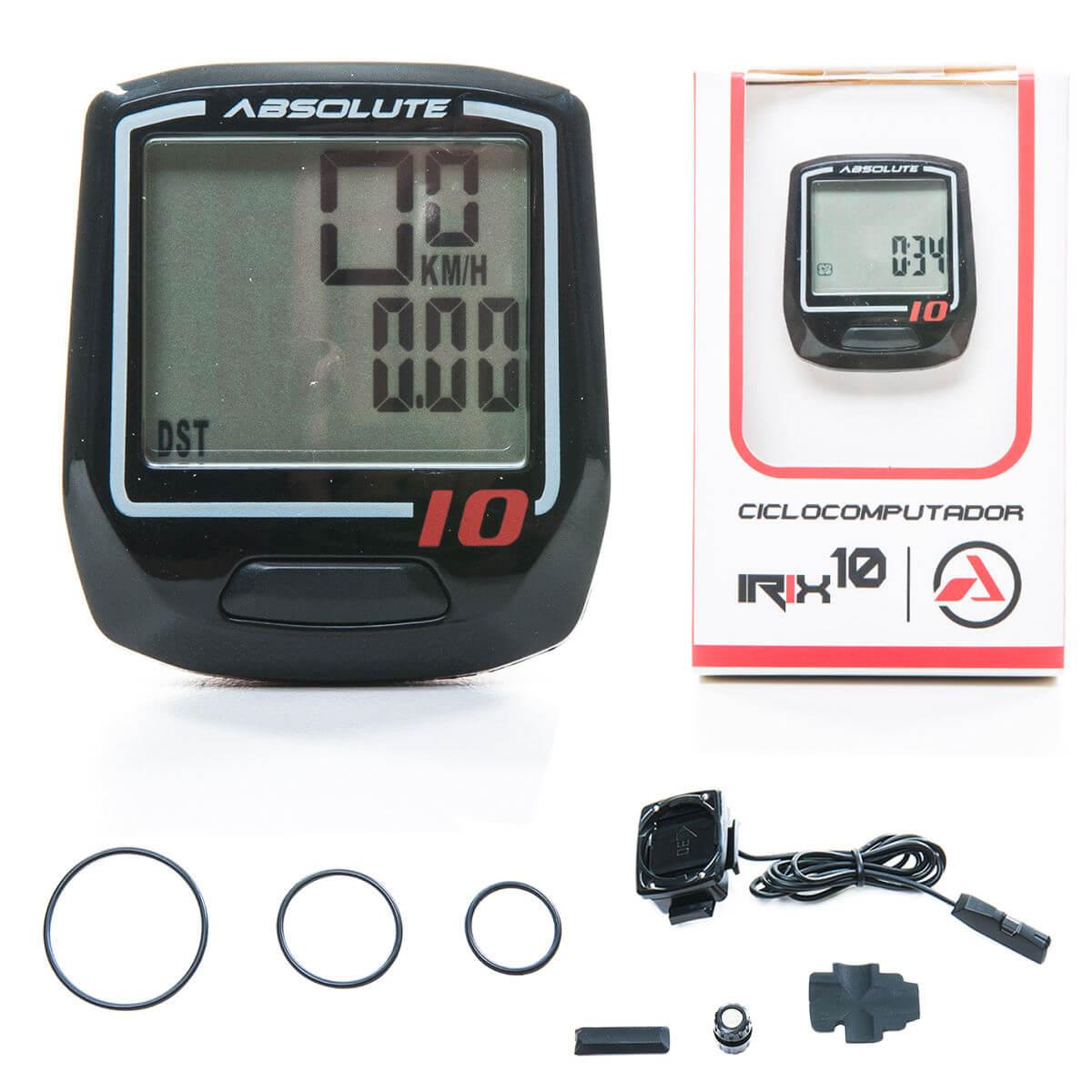 Ciclocomputador Bike Bicicleta Absolute Irix 10 Funções
