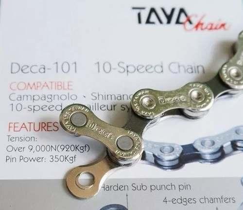 Corrente Bike Bicicleta Deca Taya 10v Com Lubrificante