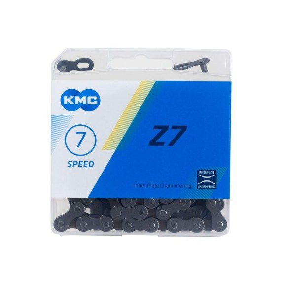 Corrente Para Bike Kmc 7v Index Z7 116 Links
