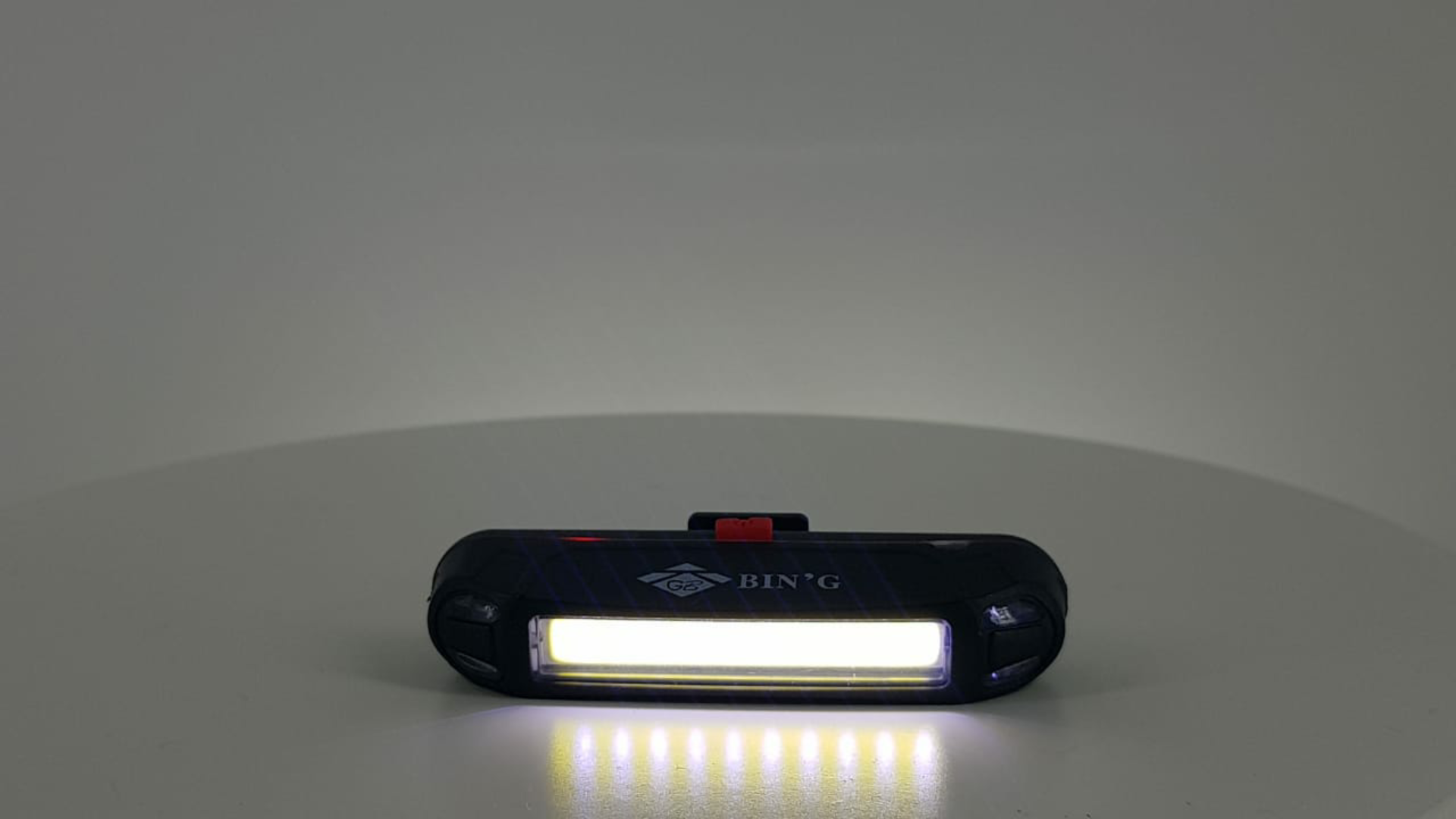 Lanterna sinalizador traseiro Luz Branca E Vermelha 100 Lumens Bike