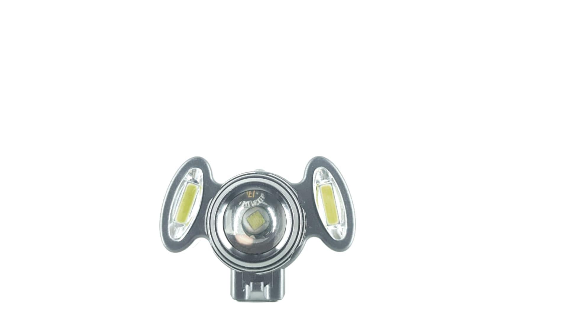 Farol Ciclismo USB 1200 Lumens Triplo GB729