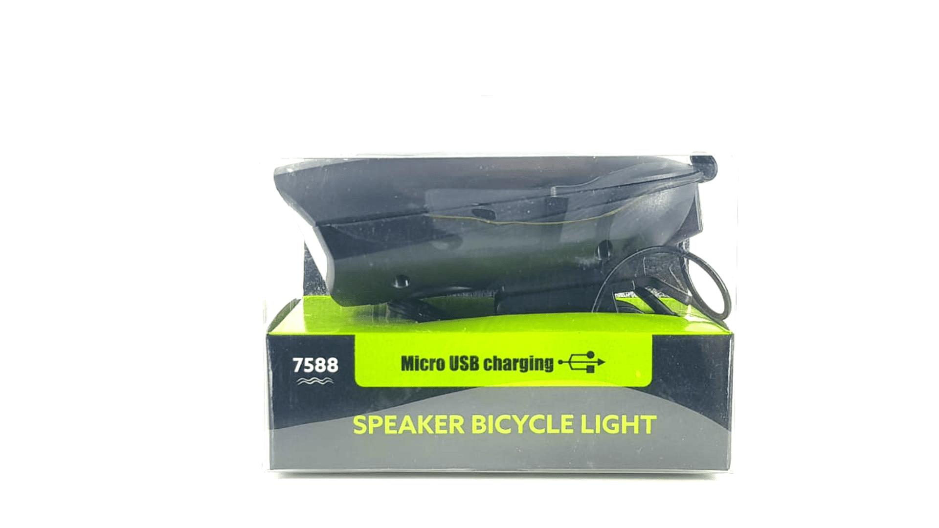 Farol Para Bicicleta 250lm Ciclismo Com Buzina 140db Led Xp