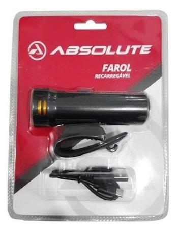 Farol Recarregável Absolute Led Usb 800 lumens Jy-7205