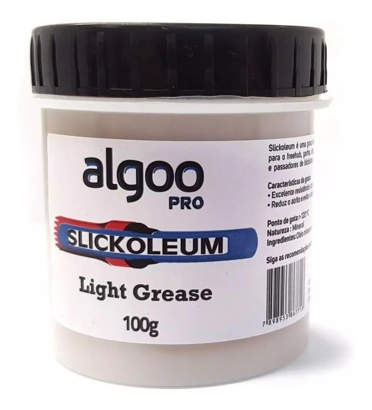 Graxa Lubrificante Slickoleum 100g Algoo Pro Para Bicicleta