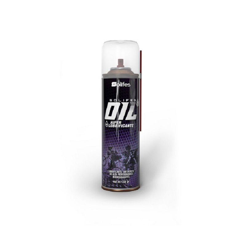 Hiper Lubrificante Solifes Oil Spray 440ml