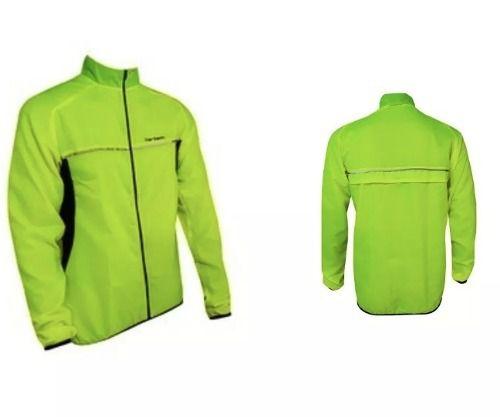 Jaqueta Corta Vento Ciclismo Barbedo Wind Amarelo Neon