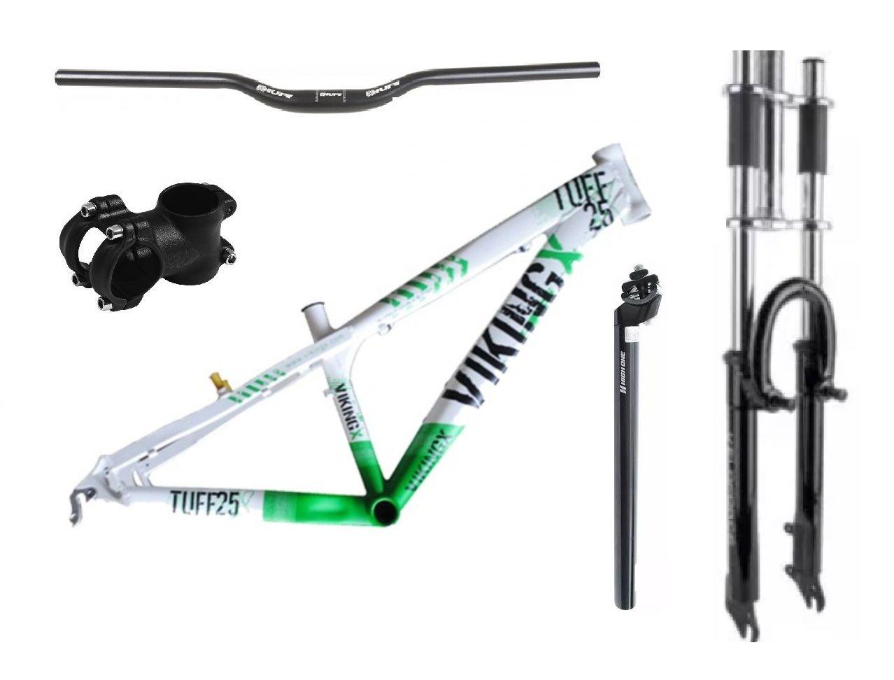 Kit Montagem Bicicleta Freeride Aro 26 Mtb Downhill