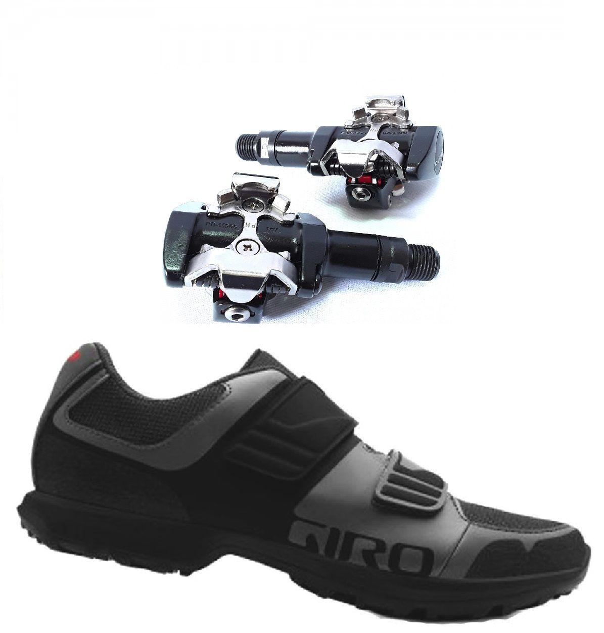 Kit Sapatilha Giro Berm + Pedal Clip Shimano PD-M505