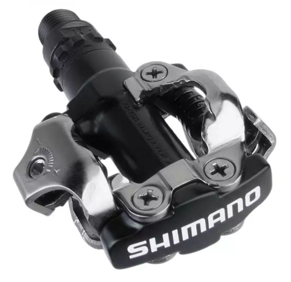 Kit Sapatilha Giro Berm + Pedal Clip Shimano PD-M520