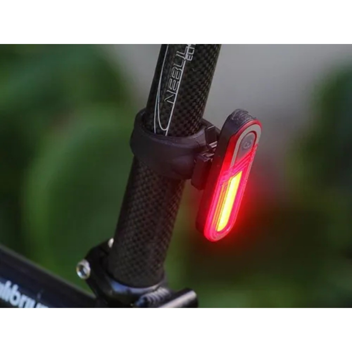Lanterna Traseira Ciclismo H1117 Sinalizador Usb Bicicleta