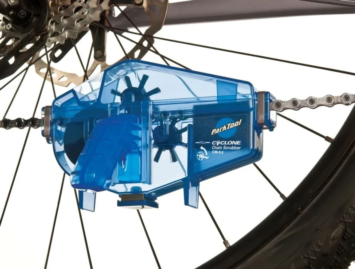 Limpador Parktool Cyclone Cm-5.2 De Corrente Para Bicicleta