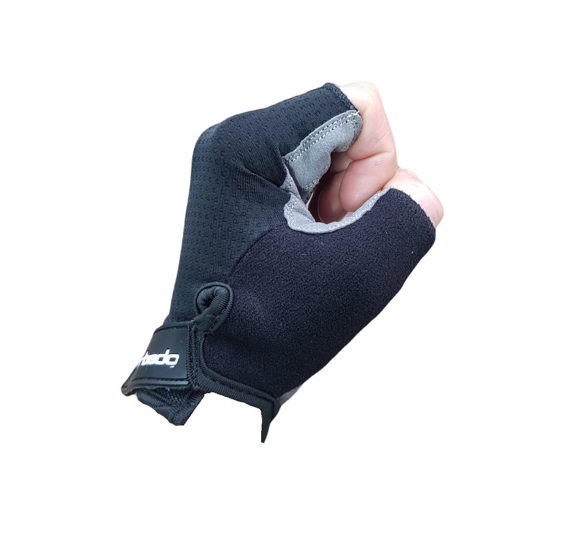 Luva Ciclismo Ciclista Barbedo Sport Pro Grip com Proteção Gel