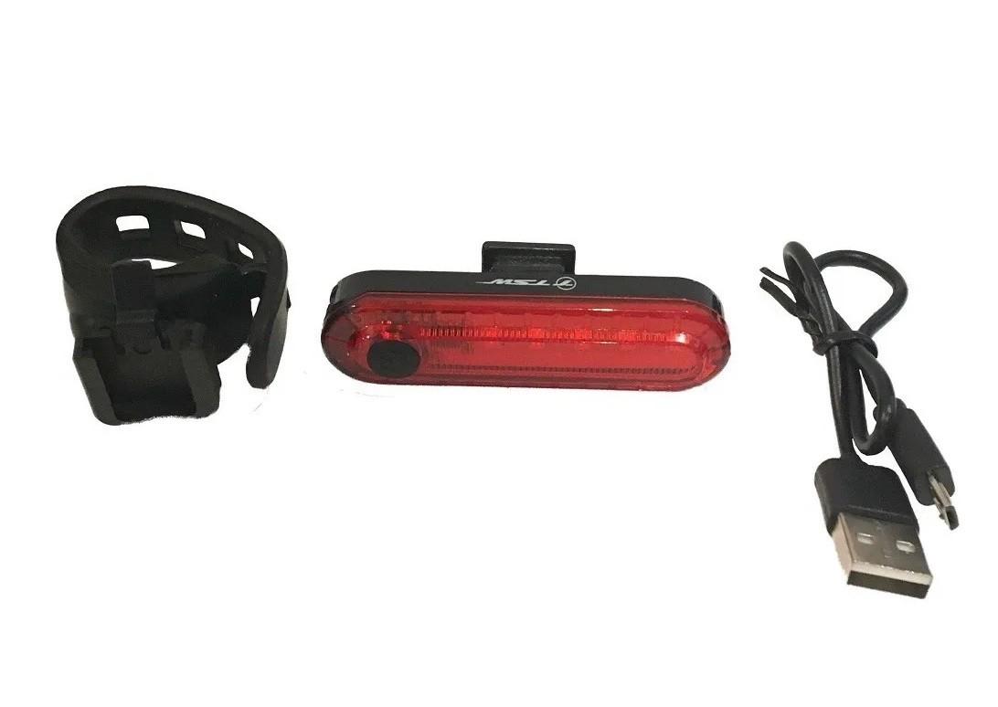 Lanterna com carregador USB Tsw