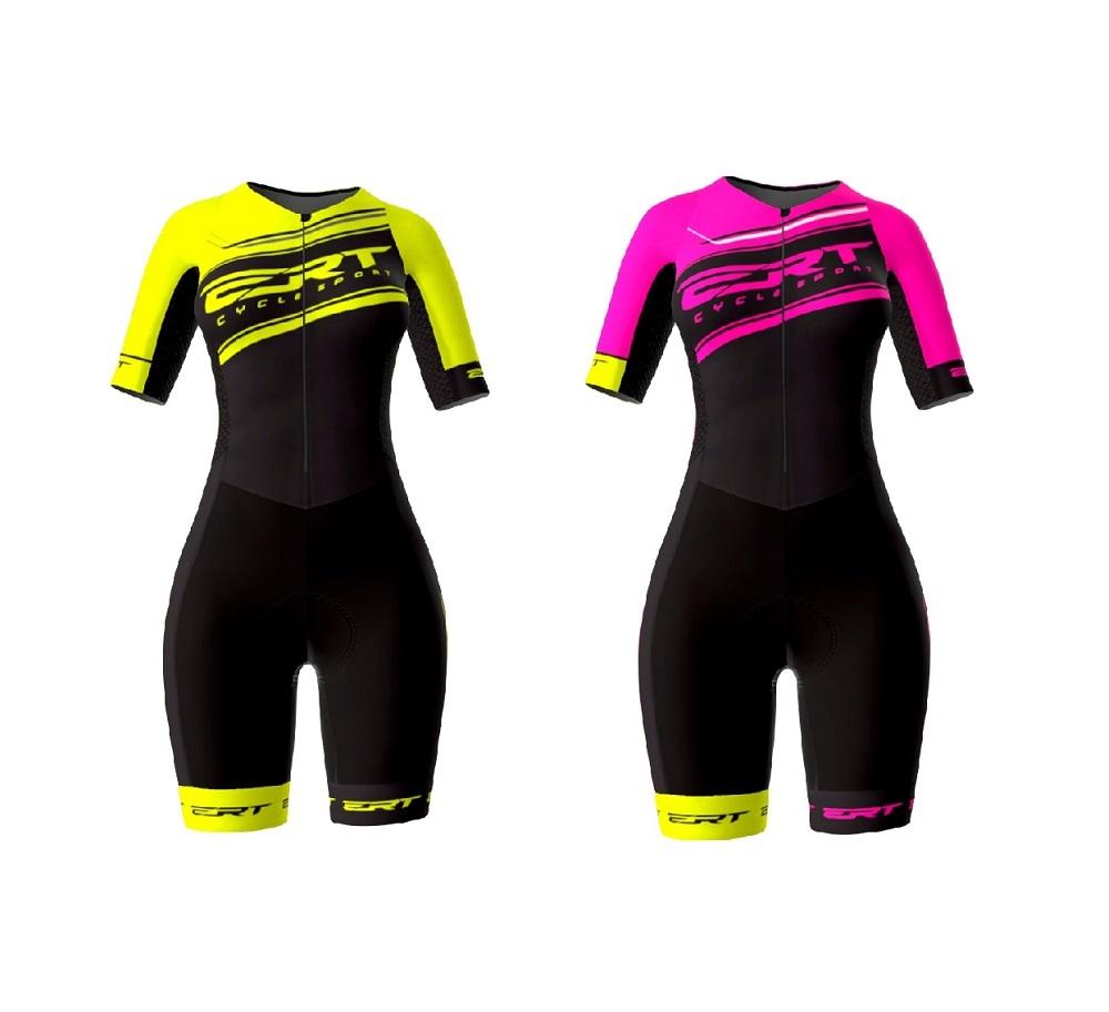 Macaquinho Ciclismo ERT Feminino New Elite Pro