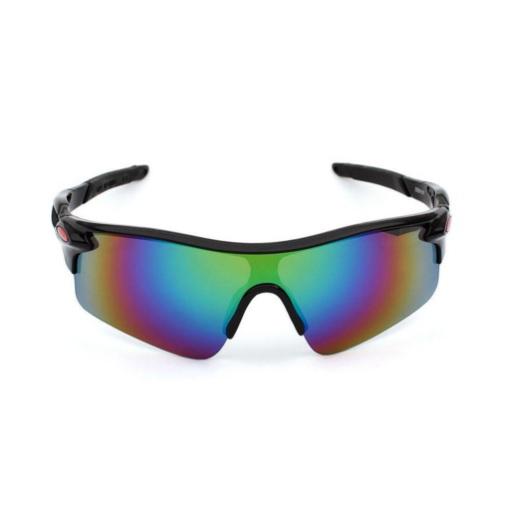 Óculos Ciclismo Esportivo Com Lentes Espelhada