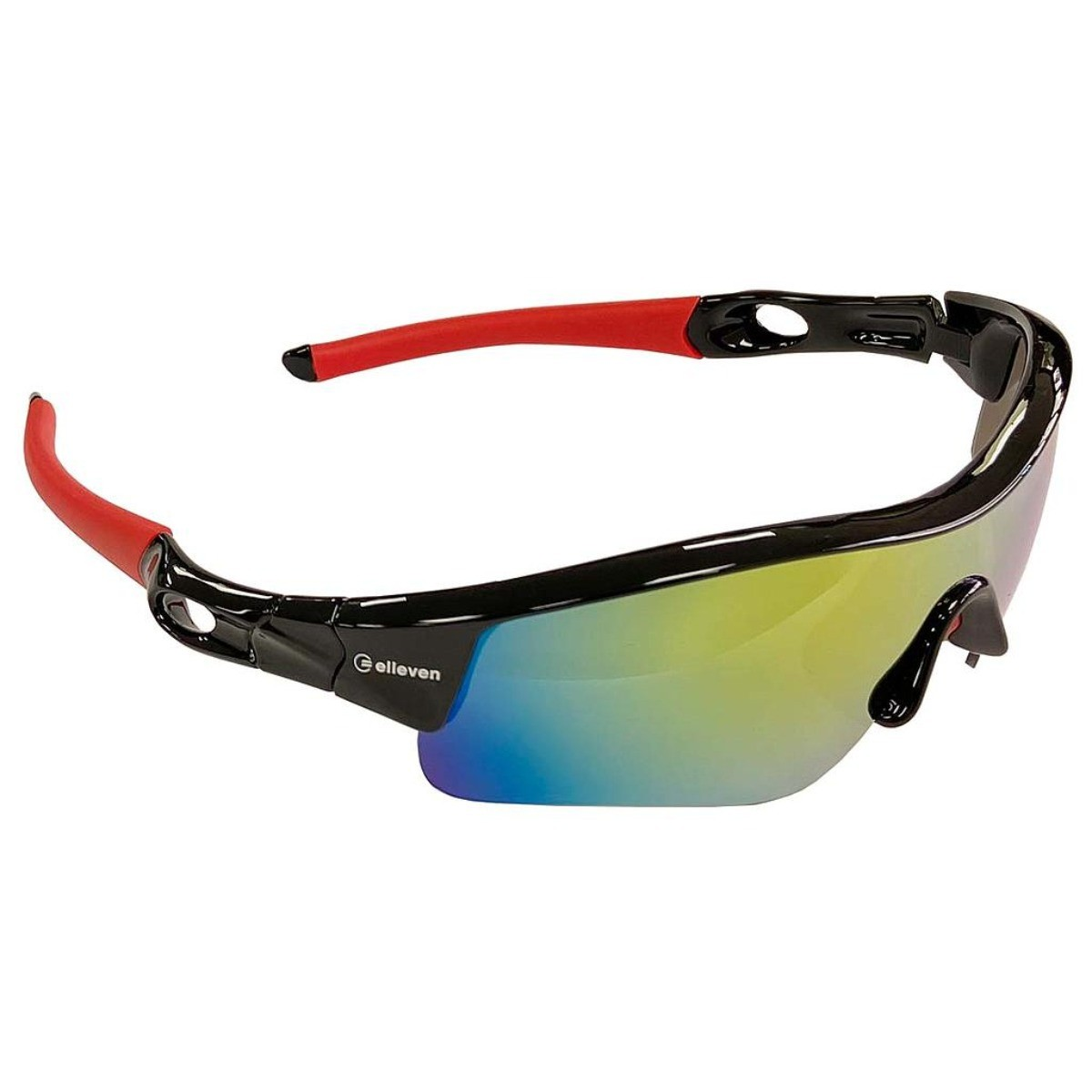Óculos Ciclismo Polarizada Mask Elleven Bike Vermelho/preto