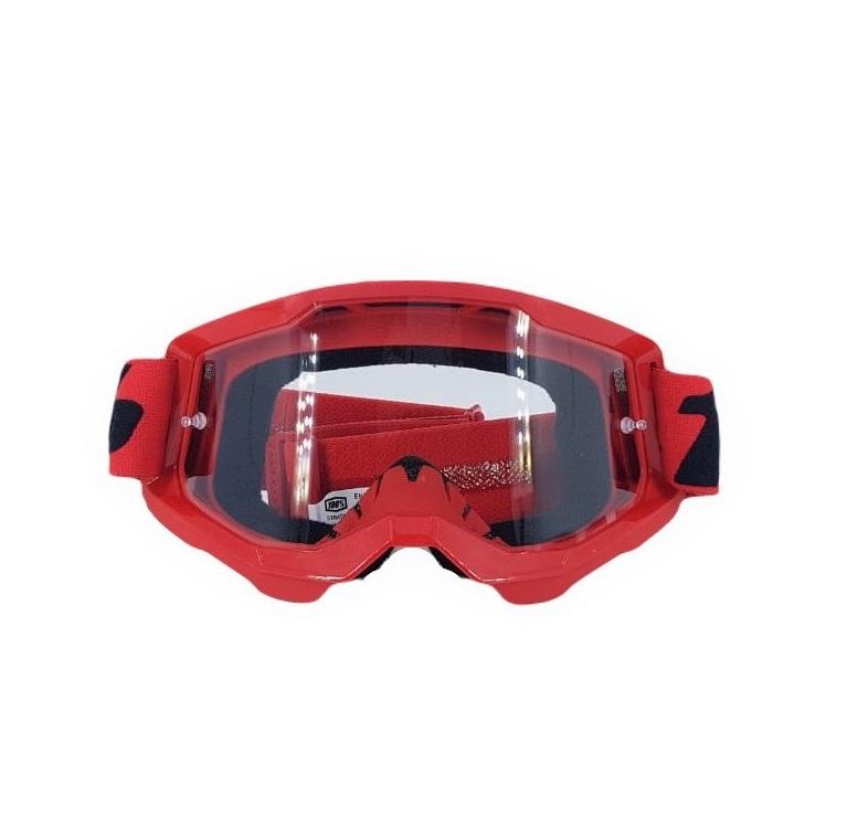 Óculos Motocross Enduro Downhill 100% Strata 2 Goggle Transparente