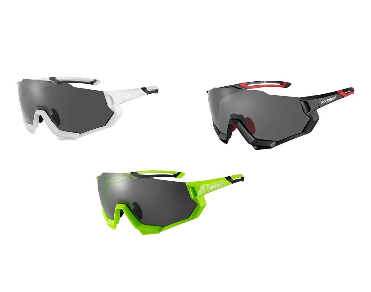 Óculos Para Ciclismo Com 5 Lentes Rockbros