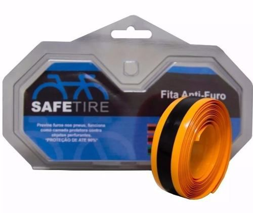 Par Fita Anti Furo Bike Pneu Aro 700 23mm Speed Safetire