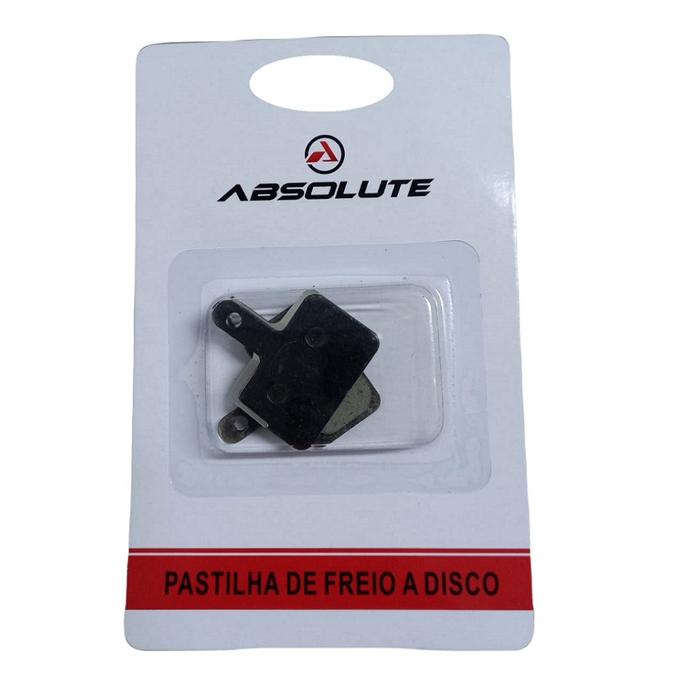 Pastilha Freio Absolute Bike Orgânica Abs-01s