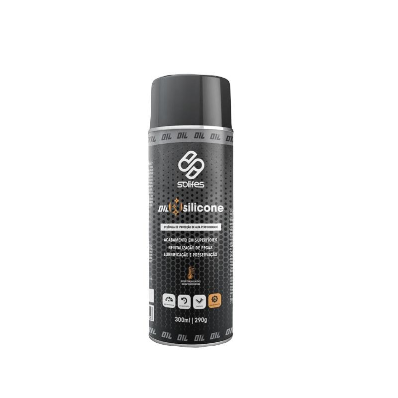 Película de Proteção Silicone Bike Spray Solifes 300ml