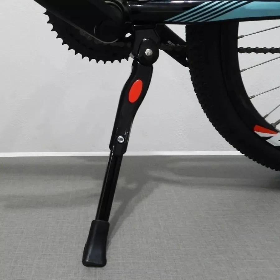 Pezinho Descanso Central Bike Aro 29 Alumínio Com Regulagem