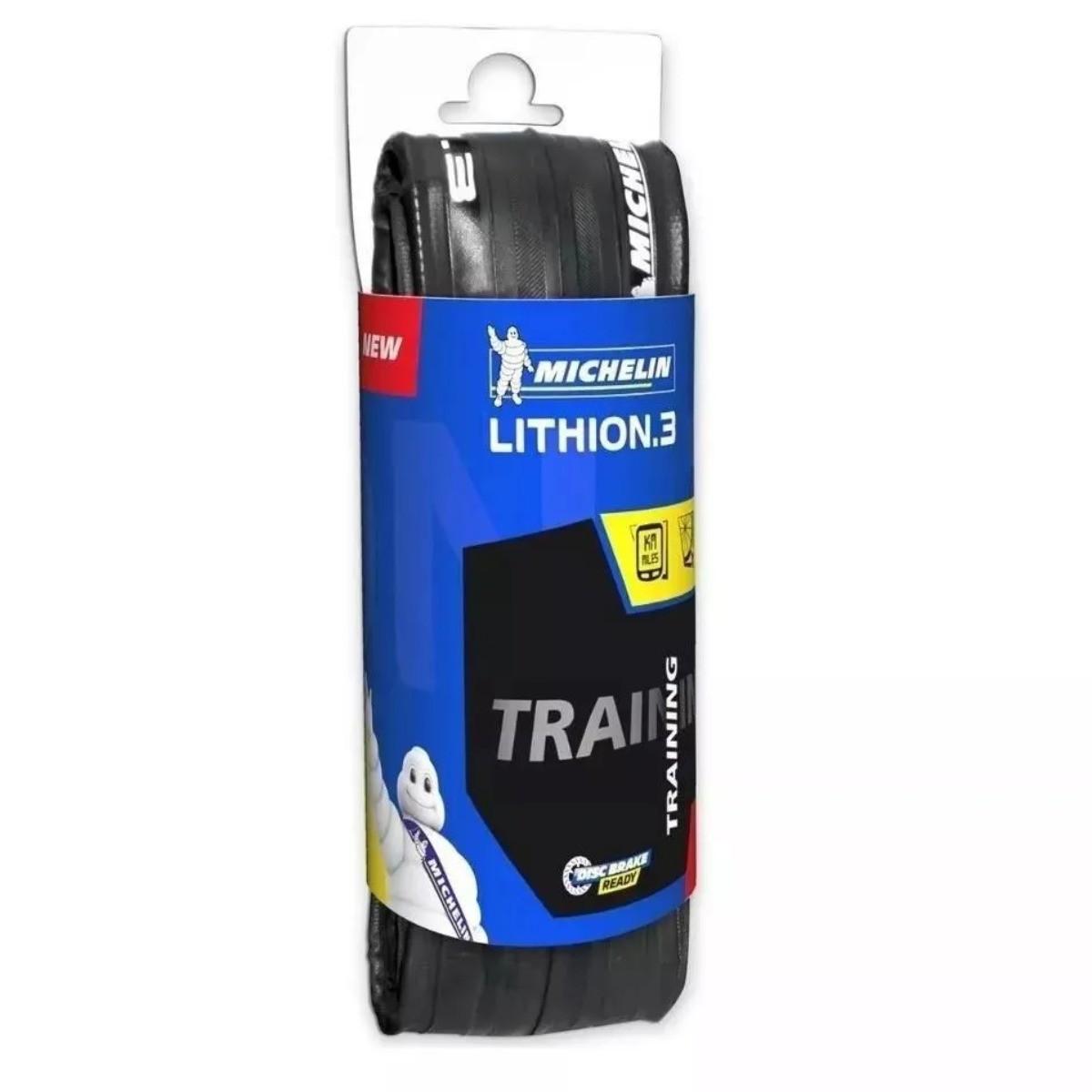 Pneu Bike Speed Lithion 3 Michelin 700x25 Kevlar