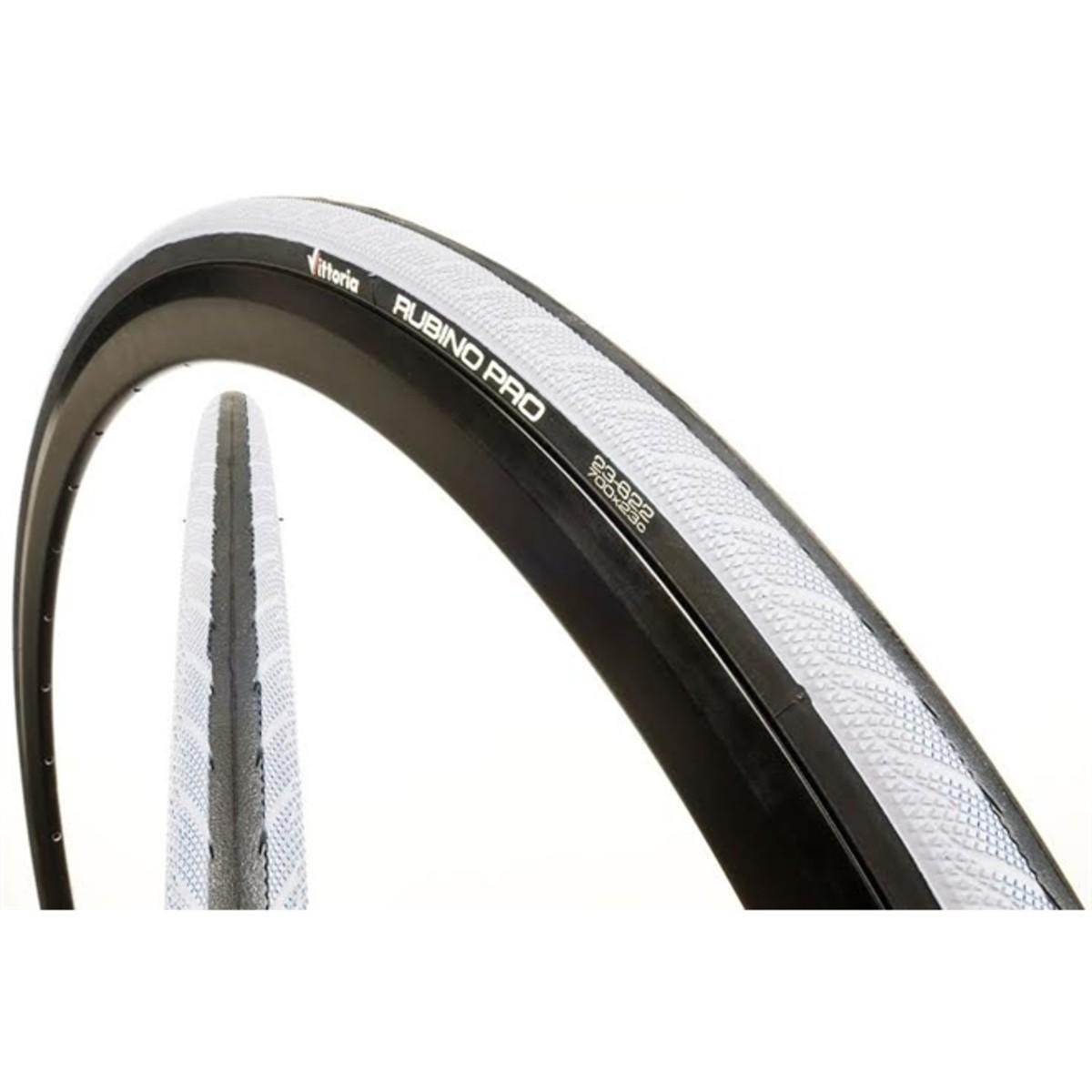 Pneu Ciclismo 700x23 Rubino Vittoria Pro Iii Preto/branco
