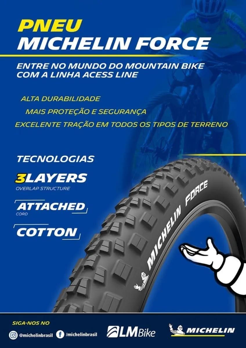 Pneu Ciclismo Force Access Line 29x2.25 Aramado Talão Rigido